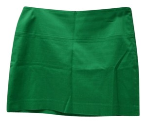 Express Mini Skirt kelly green