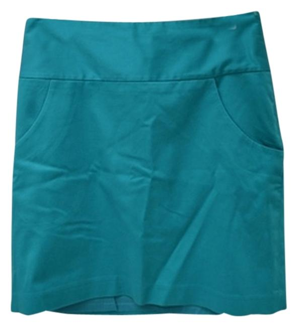 The Limited Mini Skirt teal