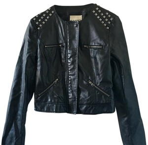 BB Dakota Leather Leather Jacket