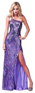 Mac Duggal Couture Gown Sequined Prom Size 10 Dress