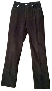 Sundance Size 6 Boot Cut Dark Brown Boot Cut Pants Espresso