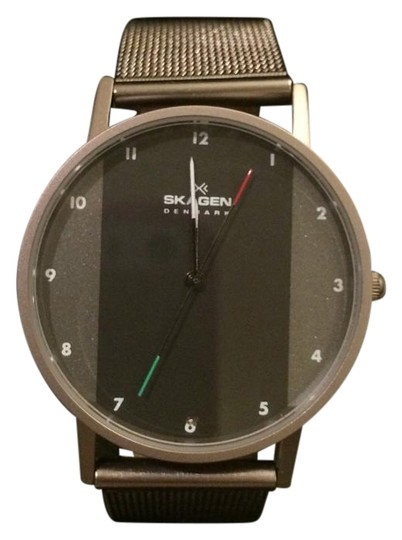Preload https://img-static.tradesy.com/item/15247672/skagen-denmark-gunmetal-11-ltt-watch-0-3-540-540.jpg