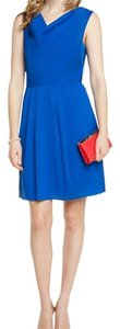 Catherine Malandrino short dress Calypso Blue Work Play on Tradesy