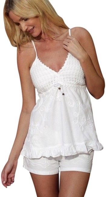 Preload https://img-static.tradesy.com/item/15248065/lirome-white-organic-cotton-embroidery-spaghetti-straps-tobi-charming-ruffle-blouse-size-4-s-0-9-650-650.jpg