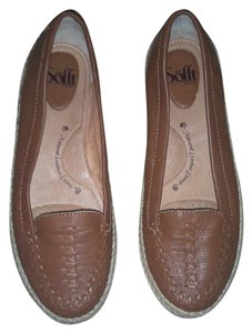 Erosoft by Sfft Espadrille Leather beige Flats