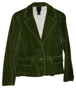 INC International Concepts Green Blazer