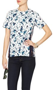 French Connection Floral Paisley Top Blue