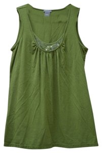 Ann Taylor Top dark green