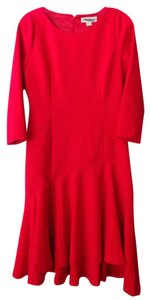 Michael Kors Fit & Flare Fitted Trumpet Longsleeve Dress
