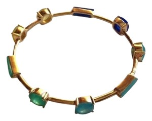 Kate Spade KATE SPADE NEW YORK Cause A Stir Linear Blue Bangle Bracelet