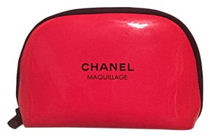 Chanel CHANEL Red Cosmetic Bag
