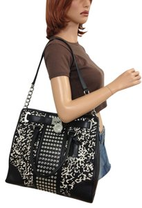 Michael Kors Satchel in BLACK WHITE