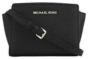 Michael Kors Leather Selma New With Cross Body Bag