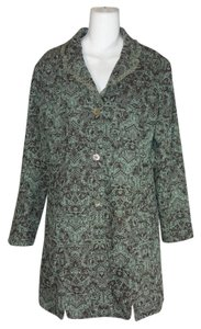 Other Steampunk Victorian Elegant Classy Career Gray/Green Jacket