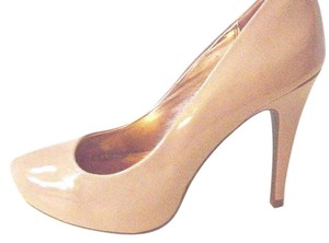 Material Girl Tan Platforms