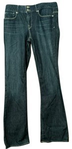 Gap 1969 Long Size 10 Boot Cut Pants Dark Blue