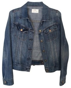 J.Crew Washed Denim Womens Jean Jacket
