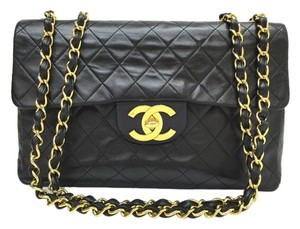 Chanel Lambskin Birkin Shoulder Bag