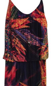 Multi bright colors Maxi Dress by S-Twelve