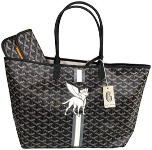 Goyard St. Louis Superdog Limited Edition Exclusive Tote in Black