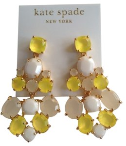 Kate Spade KATE SPADE NEW YORK Yellow Stone Chandelier Earrings