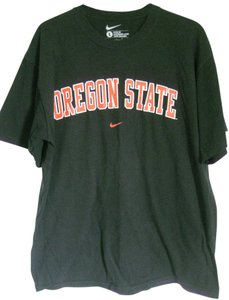 Nike Oregon State Large T Shirt Black & Orange