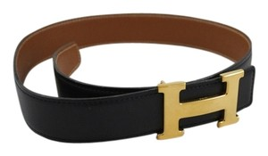 Hermès Hermes 32mm Constance Belt in Dark Navy