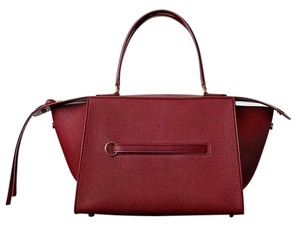 Céline Small Ring Ring Bordeaux Wine Tote in Dark Ruby NWT Celine