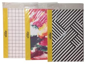 Kate Spade Set Of 3 KATE SPADE SATURDAY SLIM NOTEBOOKS 4WRU0012