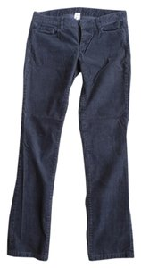 J.Crew Cords Blue Matchstick Casual Straight Pants Gray Corduroy