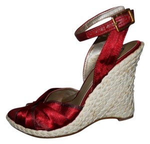 Carlos by Carlos Santana ruby red Sandals