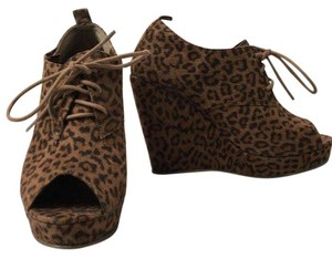 Forever 21 Cheetah Wedges
