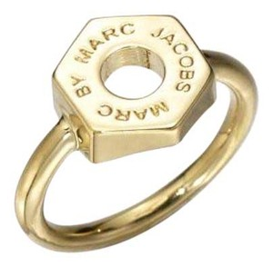 Marc by Marc Jacobs Marc by Marc Jacobs Gold Tiny Bolt Ring - 58$ New Size 6.25