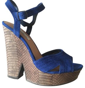 Naughty Monkey Dark electric blue Wedges