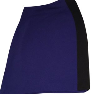 Diane von Furstenberg Skirt Royal blue and black