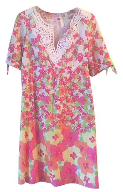 Lilly Pulitzer short dress Floral on Tradesy Image 1