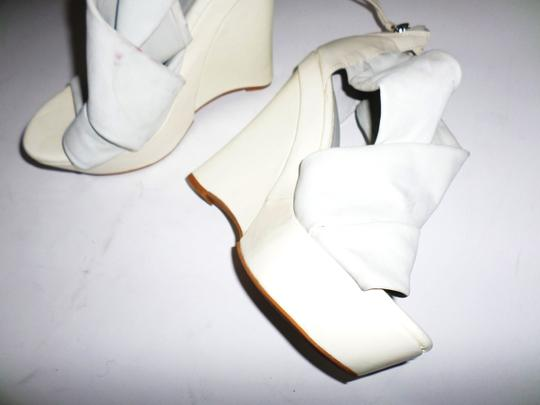 Not Too Coy White Wedges Image 1