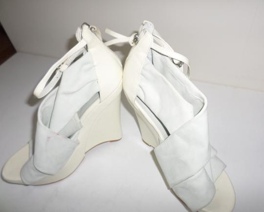 Not Too Coy White Wedges Image 2