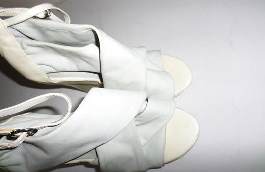 Not Too Coy White Wedges Image 3
