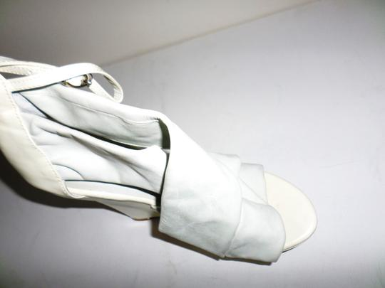 Not Too Coy White Wedges Image 4