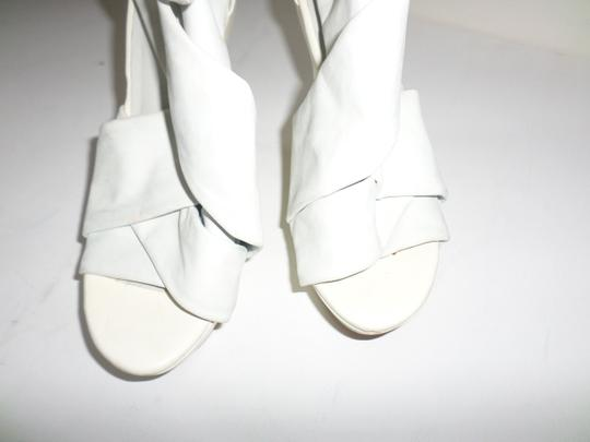 Not Too Coy White Wedges Image 5