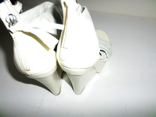 Not Too Coy White Wedges Image 7