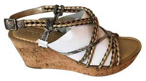 Nicole metalic multi Sandals