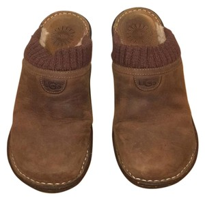 UGG Australia Dark Brown Mules