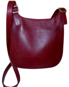 Coach Usa 9135 Red Hippie Chic Cross Body Bag