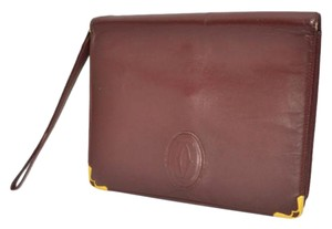 Cartier Bordeaux Crossbody Clutch