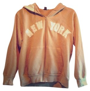 Other Hoodie New York Zipper Brown, white Jacket