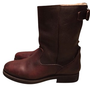 AllSaints Leather Brown Boots