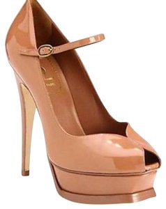 Saint Laurent Nude Platforms