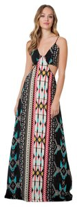 Black Santa Fe Maxi Dress by Elan